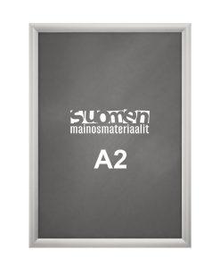Tyylikäs SNAP-Kehys A2 kokoiselle julisteelle.