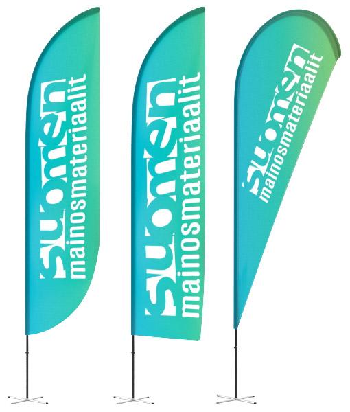 Suositut Beachflag liput